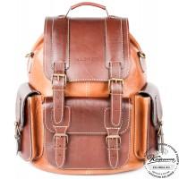 """Кожаный рюкзак """"Релакс"""""""