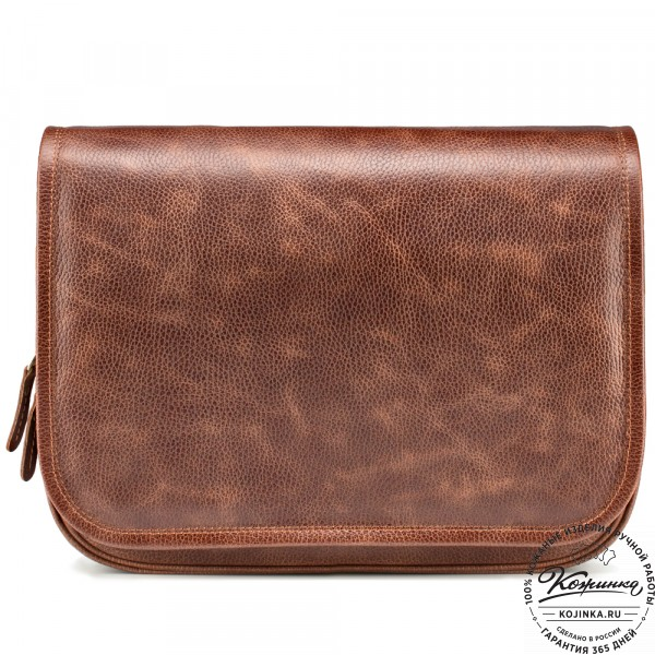 """Кожаная сумка """"Риана"""" (светло-коричневая). фото 1"""