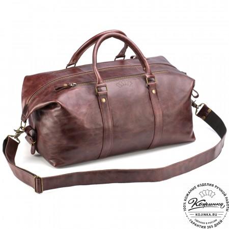 78132dd1c90a Дорожные кожаные сумки и саквояжи из натуральной кожи. Купить в ...