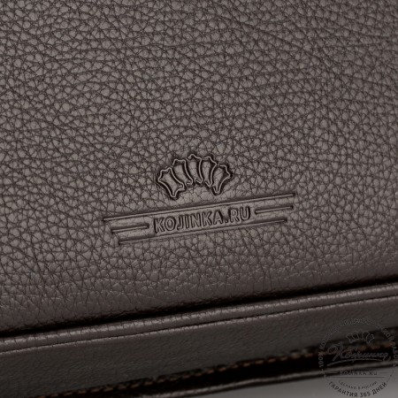 """Кожаный портфель """"Джозеф"""" (тёмно-коричневый)"""