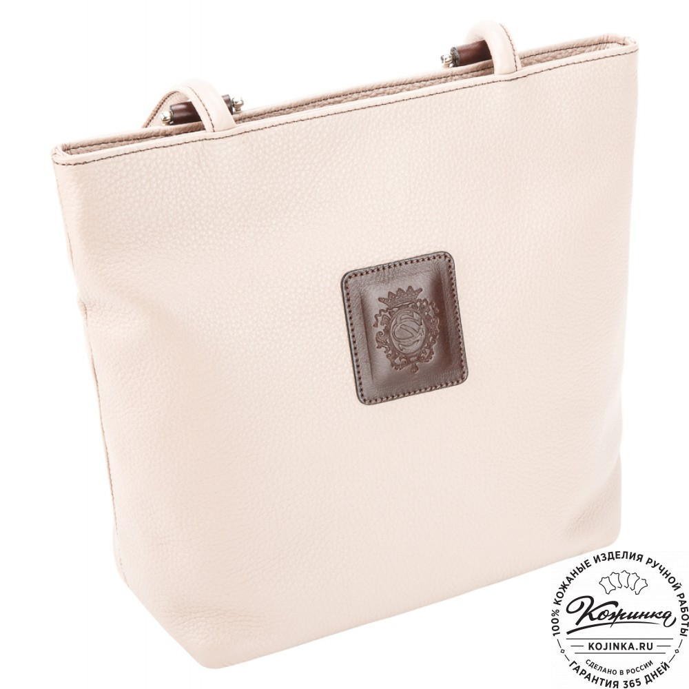"""Женская кожаная сумка-рюкзак """"Валентино"""" (пыльная роза)"""