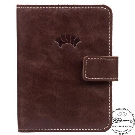 Кожаный бумажник водителя Бостон (коричневый)