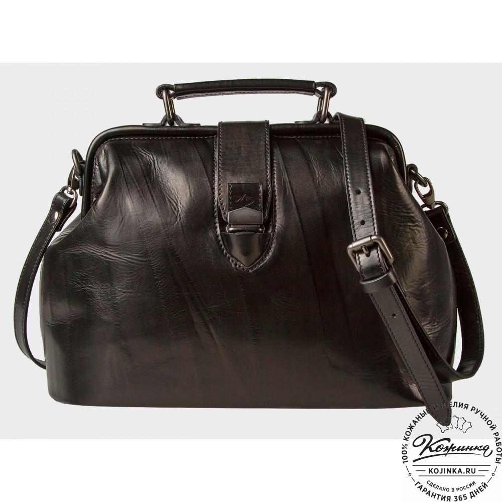 c5e0c464debb Женская кожаная сумка-саквояж