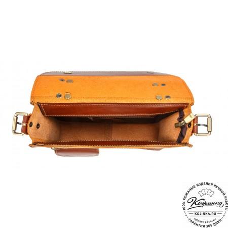 """Кожаный портфель """"Ройс"""""""