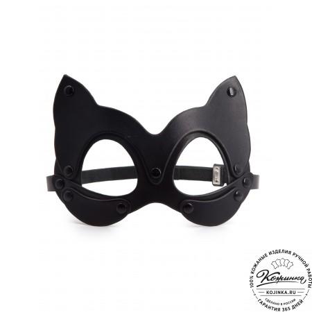 Кожаная маска Pussycat