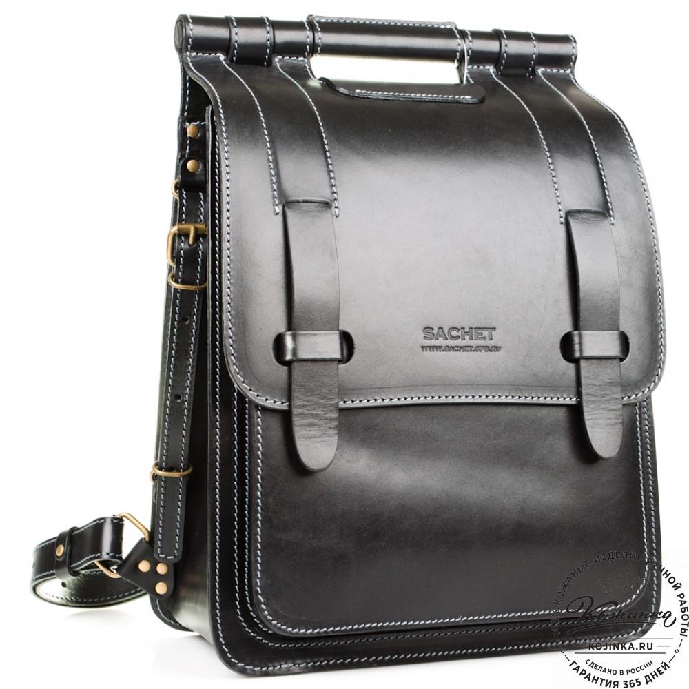 1857033e41cd Стильный кожаный рюкзак