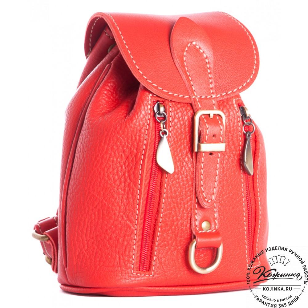 05d4f3618d28 Женский кожаный рюкзак