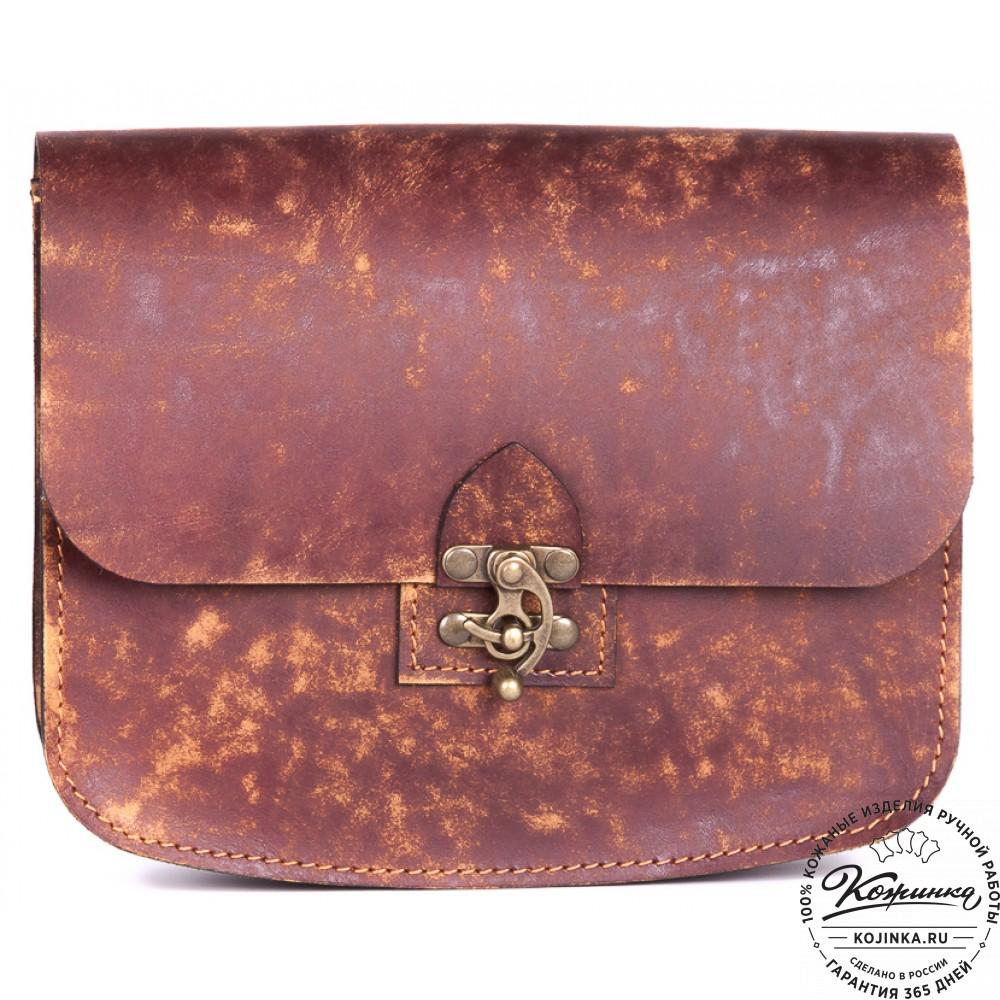 Женская сумка из натуральной кожи ручной работы 32
