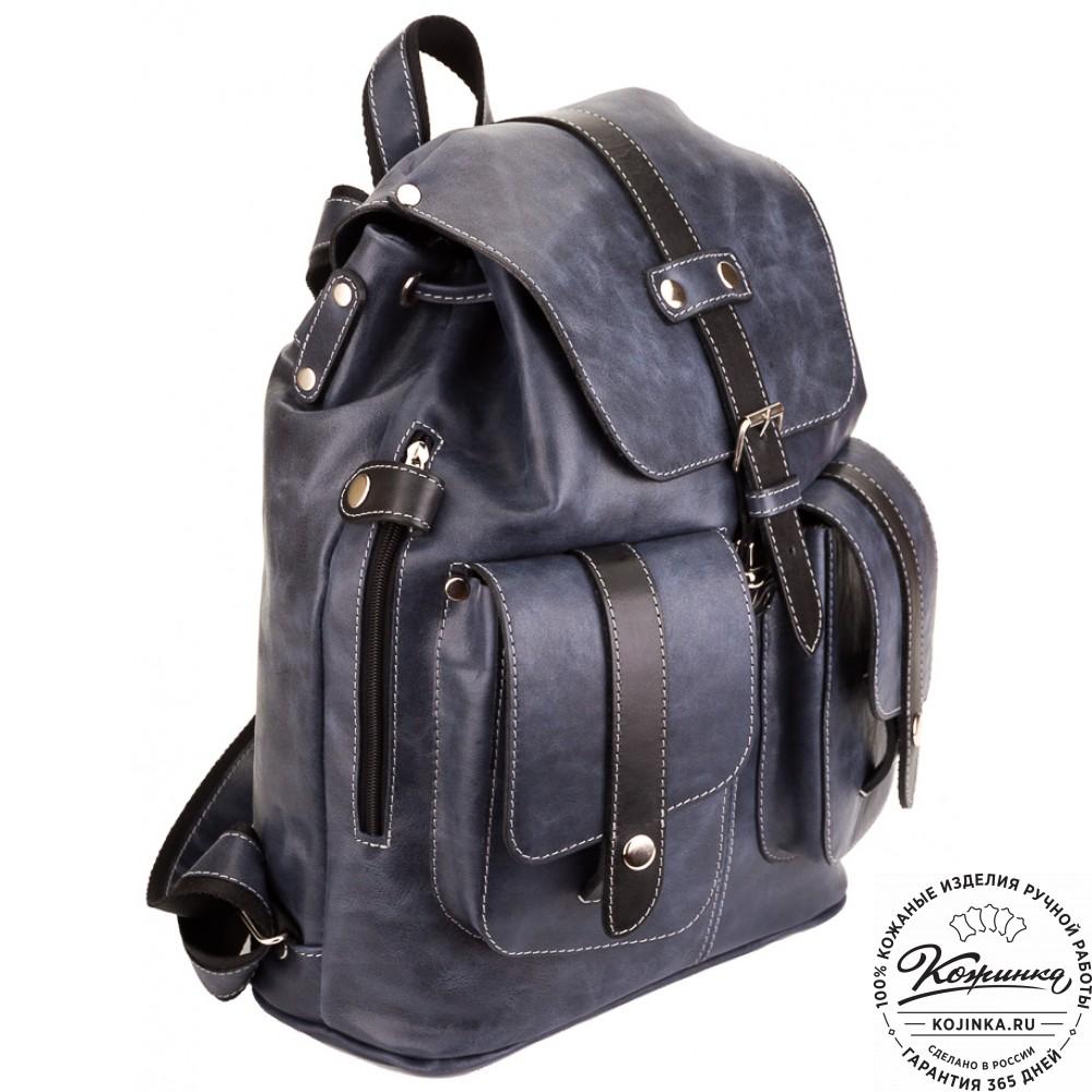 a5f657406acc Кожаный рюкзак ручной работы