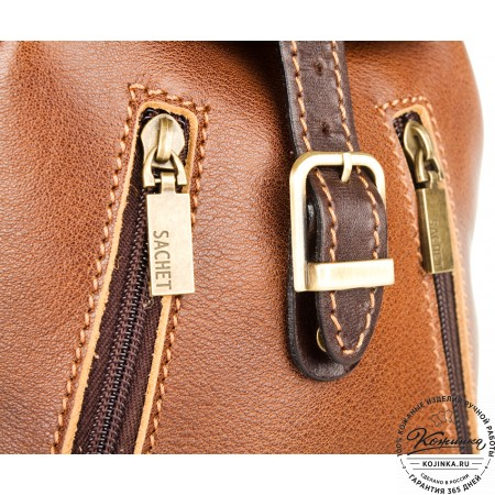 """Женский кожаный рюкзак """"Жоли"""" - 5"""