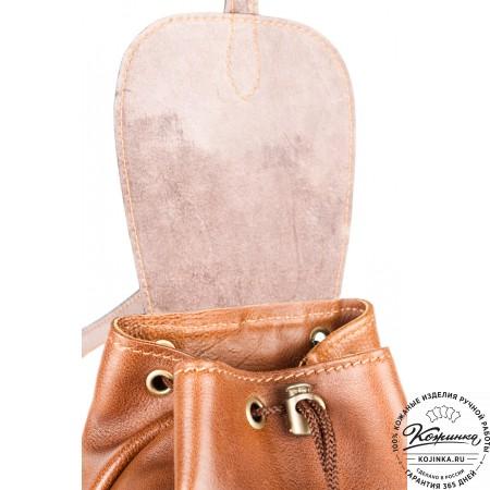 """Женский кожаный рюкзак """"Жоли"""" - 9"""