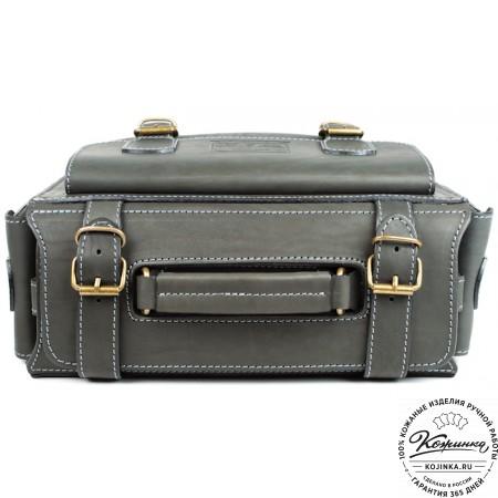 """Кожаный портфель """"Бойскаут"""" (чёрный) - 3"""