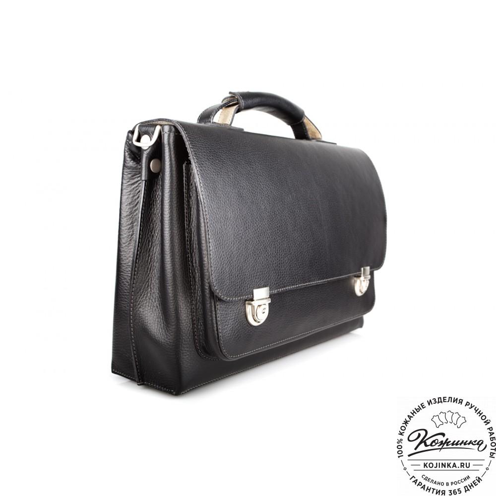 e15633dd4bcd Кожаный портфель ручной работы