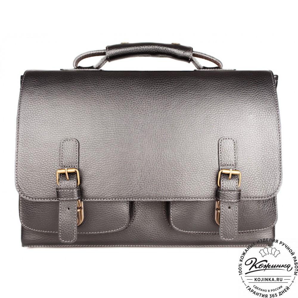 f785572ca1b2 Кожаный портфель ручной работы