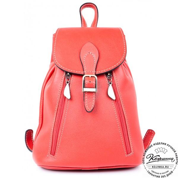 bcdad6baa508 Женский кожаный рюкзак