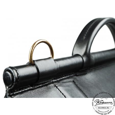 """Кожаный портфель """"Префект"""" - 7"""