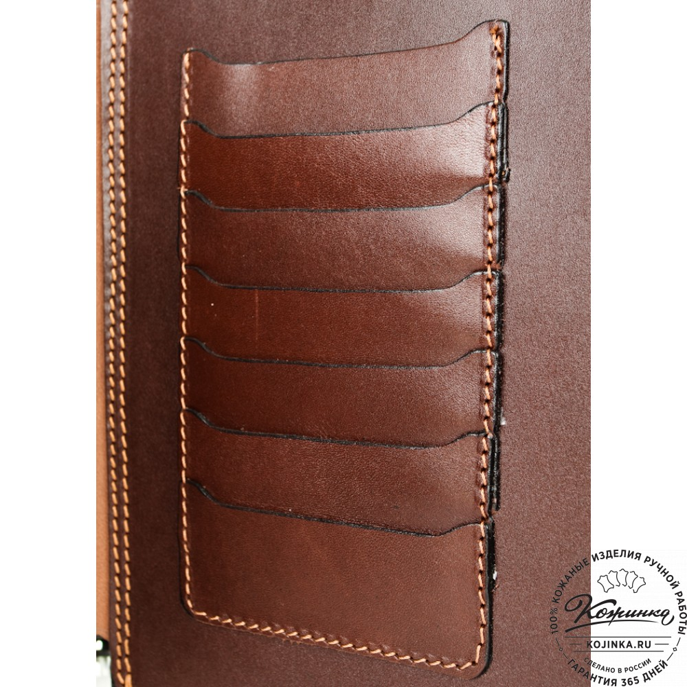 Кожаный планшет 207 (рыжий)