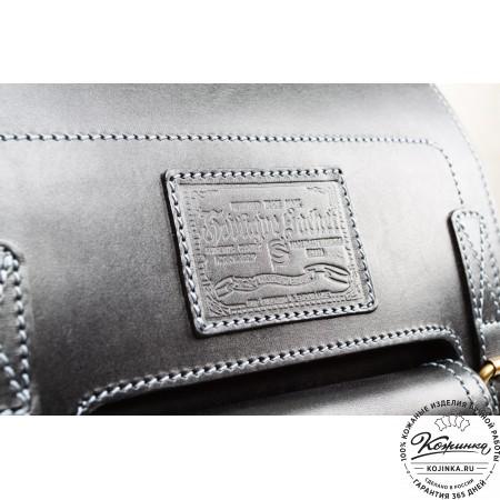 """Кожаный рюкзак """"Кэмэл"""" (чёрный) - 5"""