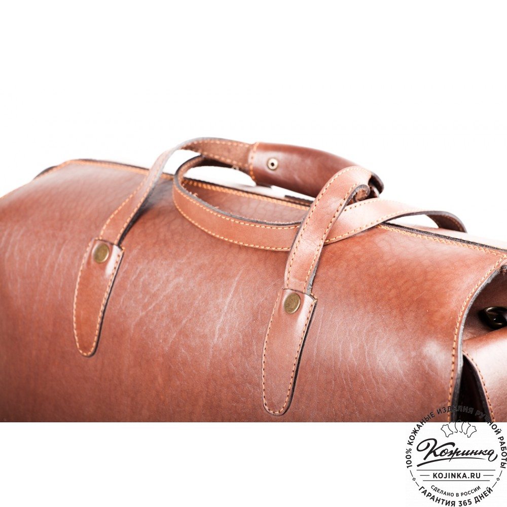df25469d1930 Кожаная дорожная сумка ручной работы