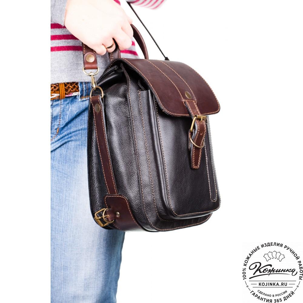 a6215c001878 Женский кожаный рюкзак ручной работы