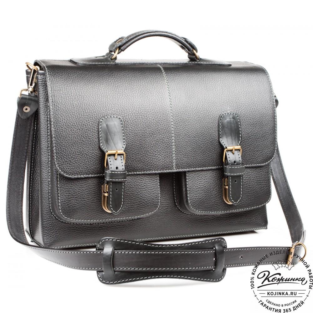 537fefa1d51a Кожаный портфель ручной работы