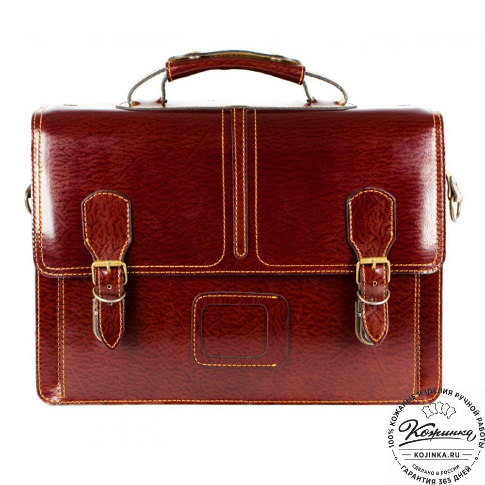 2694ed46e645 Кожаный портфель ручной работы