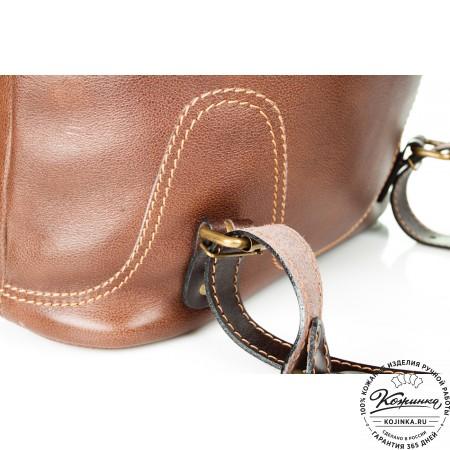 """Кожаный рюкзак """"Стиль 2"""" (коричневый) - 7"""