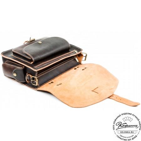"""Кожаная  сумка """"Леонардо"""" (эксклюзив)"""