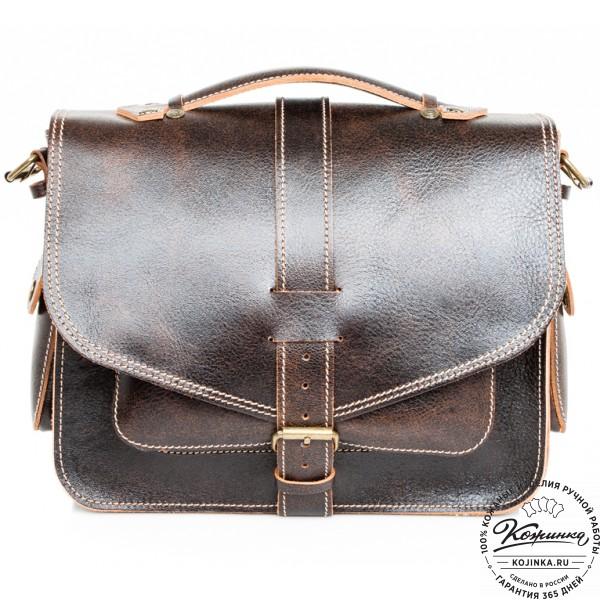 """Кожаная  сумка """"Леонардо"""" (эксклюзив). фото 1"""