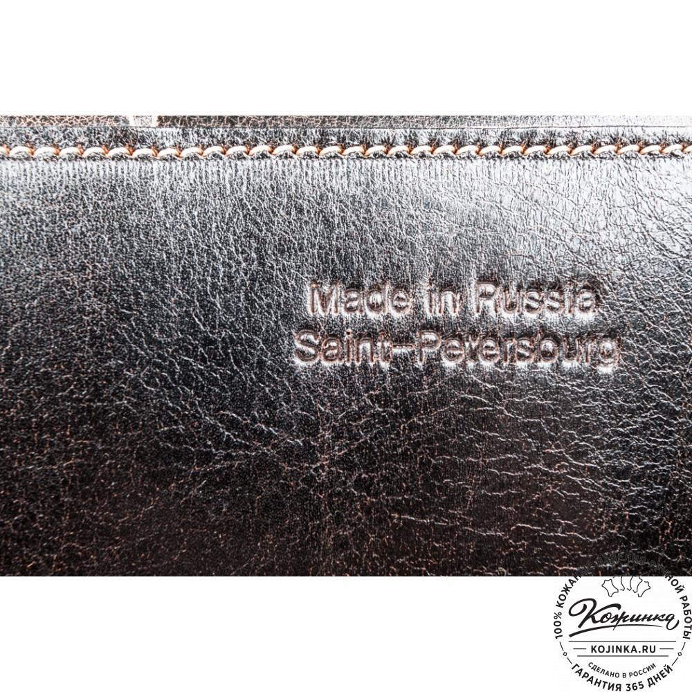 """Кожаная  сумка """"Виктория"""" (коричневый эксклюзив)"""
