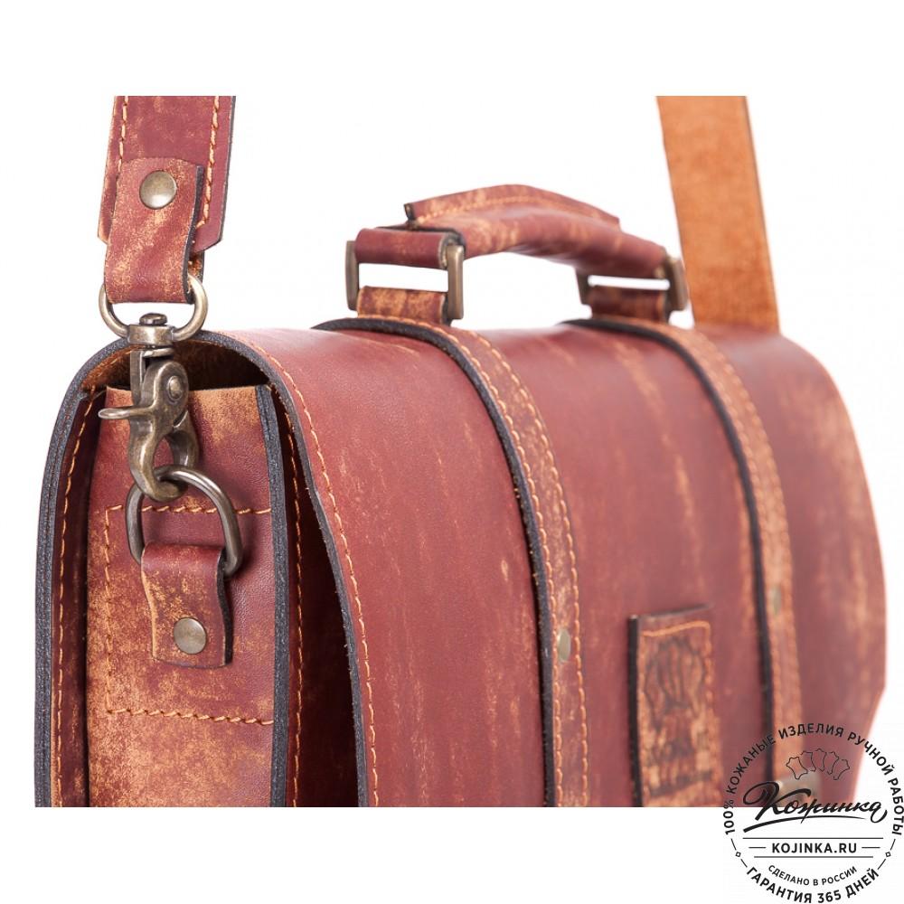 """Кожаный портфель """"Гордон"""" (эксклюзив)"""